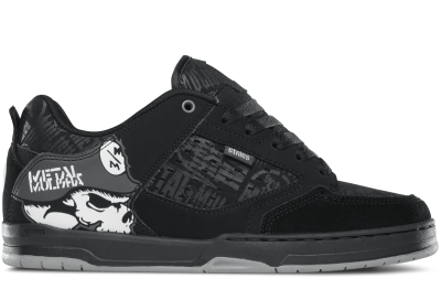 etnies Metal Mulisha Cartel Shoes, Black Skulls