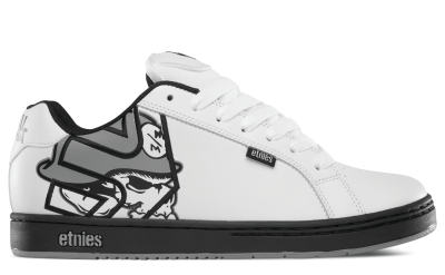 etnies Metal Mulisha Fader Shoes, White Black Grey ...