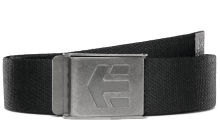 etnies Staplez Belt, Black Grey