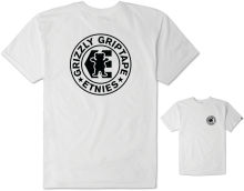 etnies X Grizzly Corp Tee, White