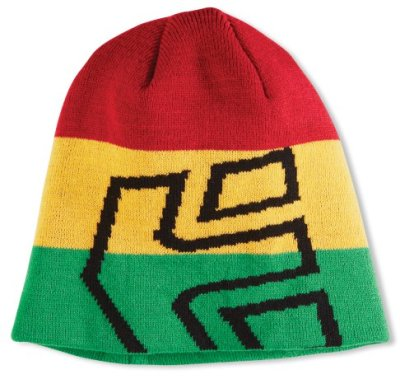 etnies Icon Outline Beanie, Red Gold