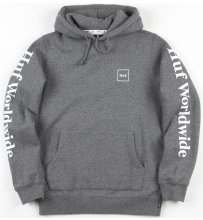HUF Domestic Hoodie, Gunmetal Heather